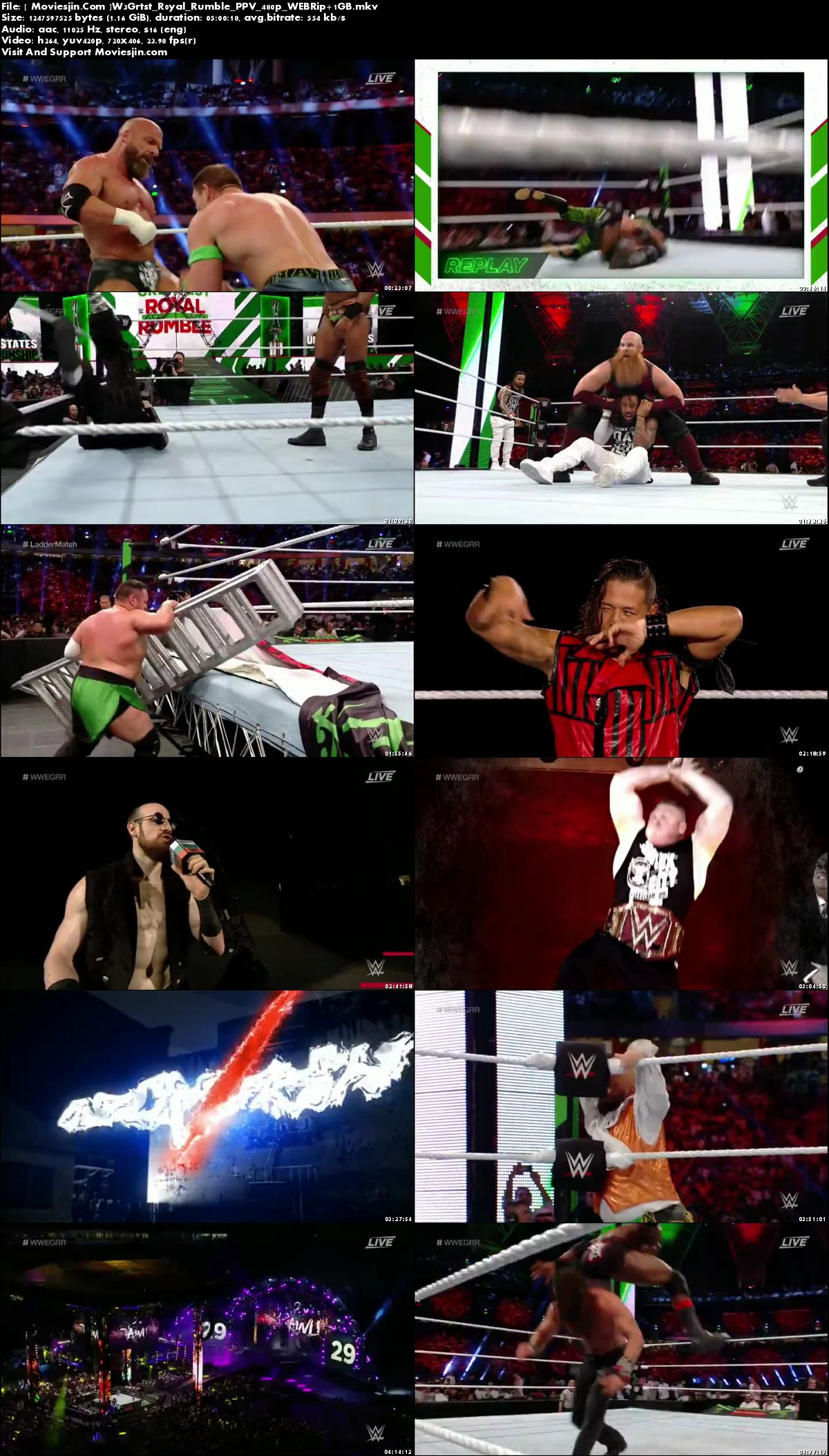 Watch Online WWE Greatest Royal Rumble PPV 2018 WEB-Rip 1GB x264 480p Ful  Download mkvcage