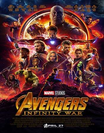 Watch Online Avengers Infinity War 2018 New HDCAM Hindi Dual Audio 720p Full Movie Download mkvcage