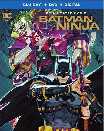 Watch Online Batman Ninja 2018 BluRay 800MB English 720p ESub Full Movie Download mkvcage