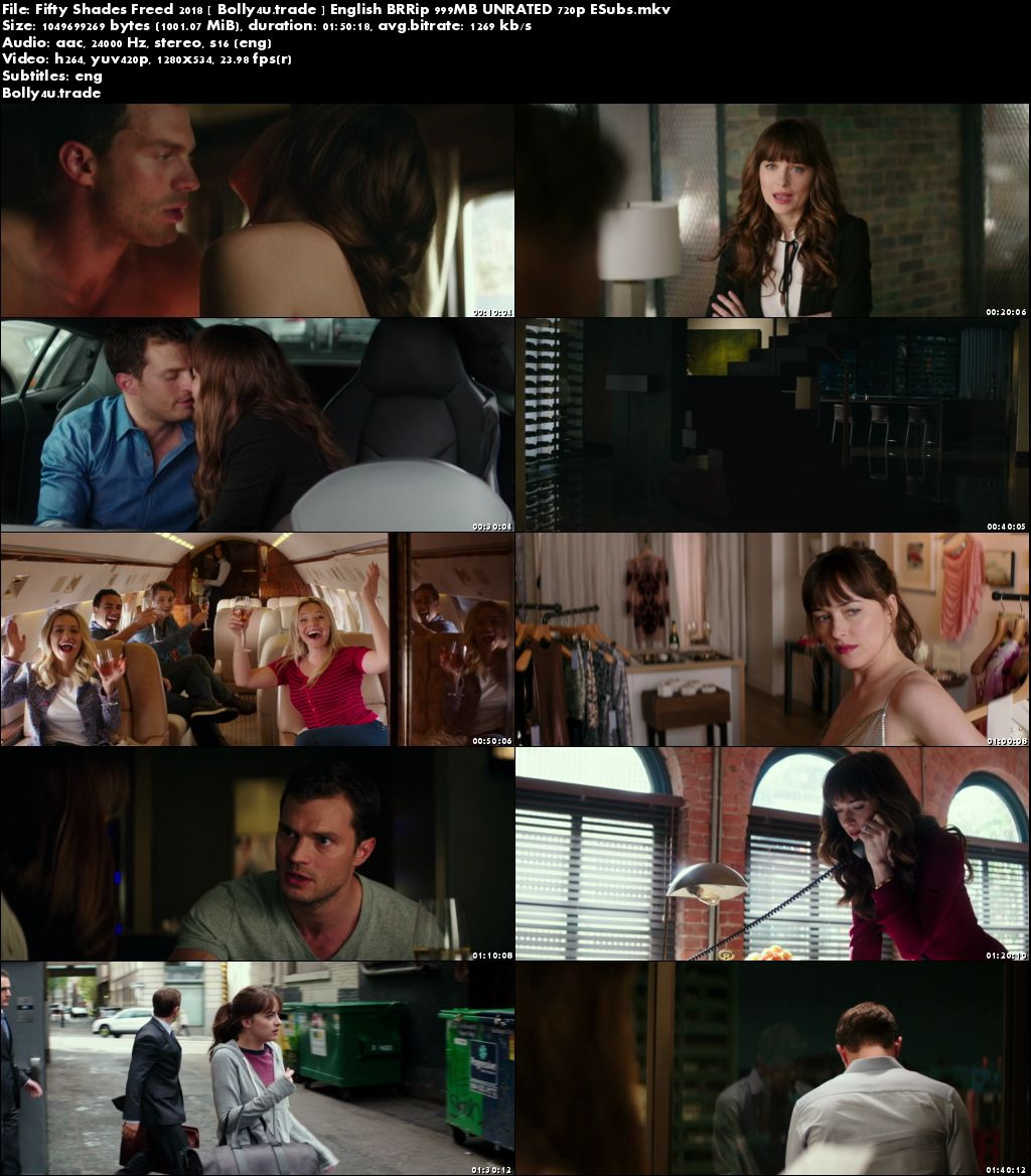 Fifty Shades Freed 2018 BRRip 300MB UNRATED English 480p ESubs Download
