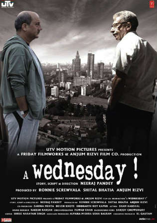 A Wednesday 2008 BluRay 300Mb Full Hindi Movie Download 480p Watch Online Free bolly4u