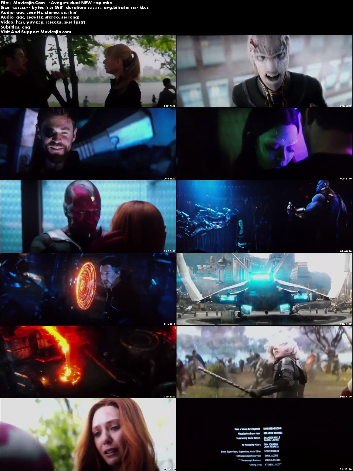 Watch Online Avengers Infinity War 2018 New HDCAM Hindi 450MB Dual Audio 480p Full Movie Download mkvcage