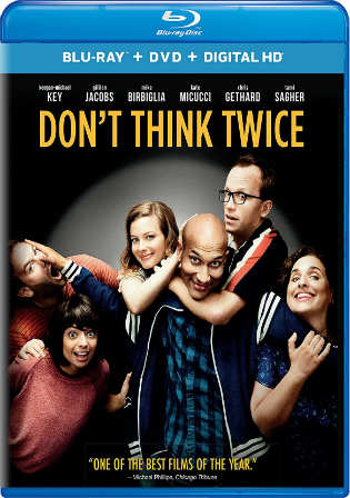Dont Think Twice 2016 BRRip 300Mb Hindi Dual Audio 480p Watch Online Full Movie Download bolly4u