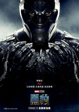 Black Panther 2018 BRRip 999MB Hindi Dual Audio 720p ESub watch Online Full Movie Download bolly4u
