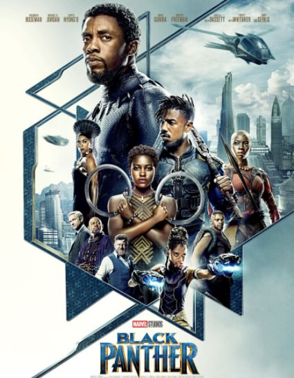 Watch Online Black Panther 2018 BluRay Hindi 1GB Dual Audio 720p Full Movie Download mkvcage