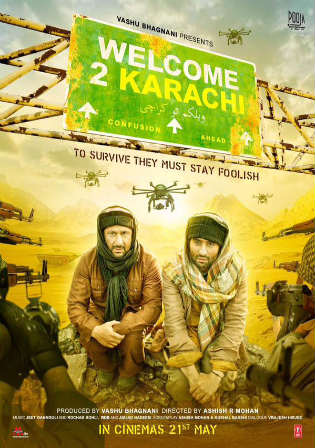 Welcome 2 Karachi 2015 HDRip 350MB Full Hindi Movie Download 480p Watch Online Free bolly4u