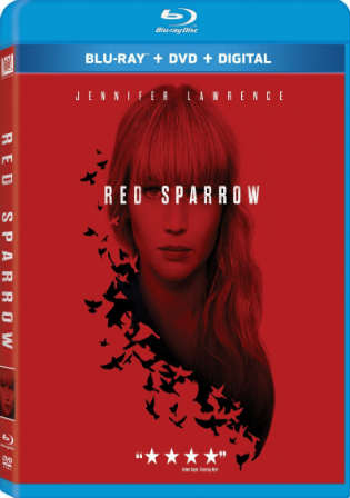Red Sparrow 2018 English BluRay 480p ESub 400MB