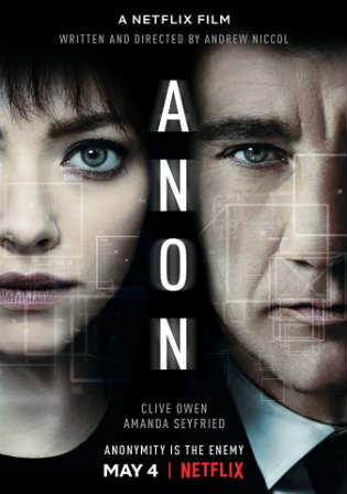 Anon 2018 Latest Movie WEB-DL 300Mb English 480p ESub