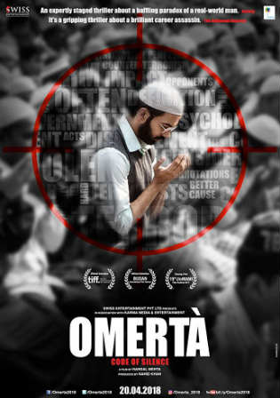 Omerta 2018 Pre DVDRip 280Mb Full Hindi Movie Download 480p Watch Online Free bolly4u