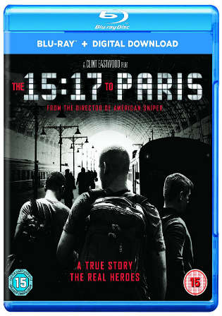 The 15 17 to Paris 2018 BluRay 850Mb English 720p ESub Watch Online Full Movie Download bolly4u