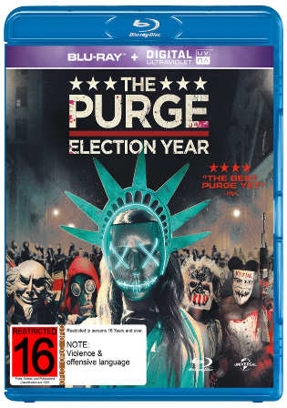 The Purge Election Year 2016 BRRip 800Mb Hindi Dual Audio 720p Watch Online Full Movie Download Worldfree4u 9xmovies