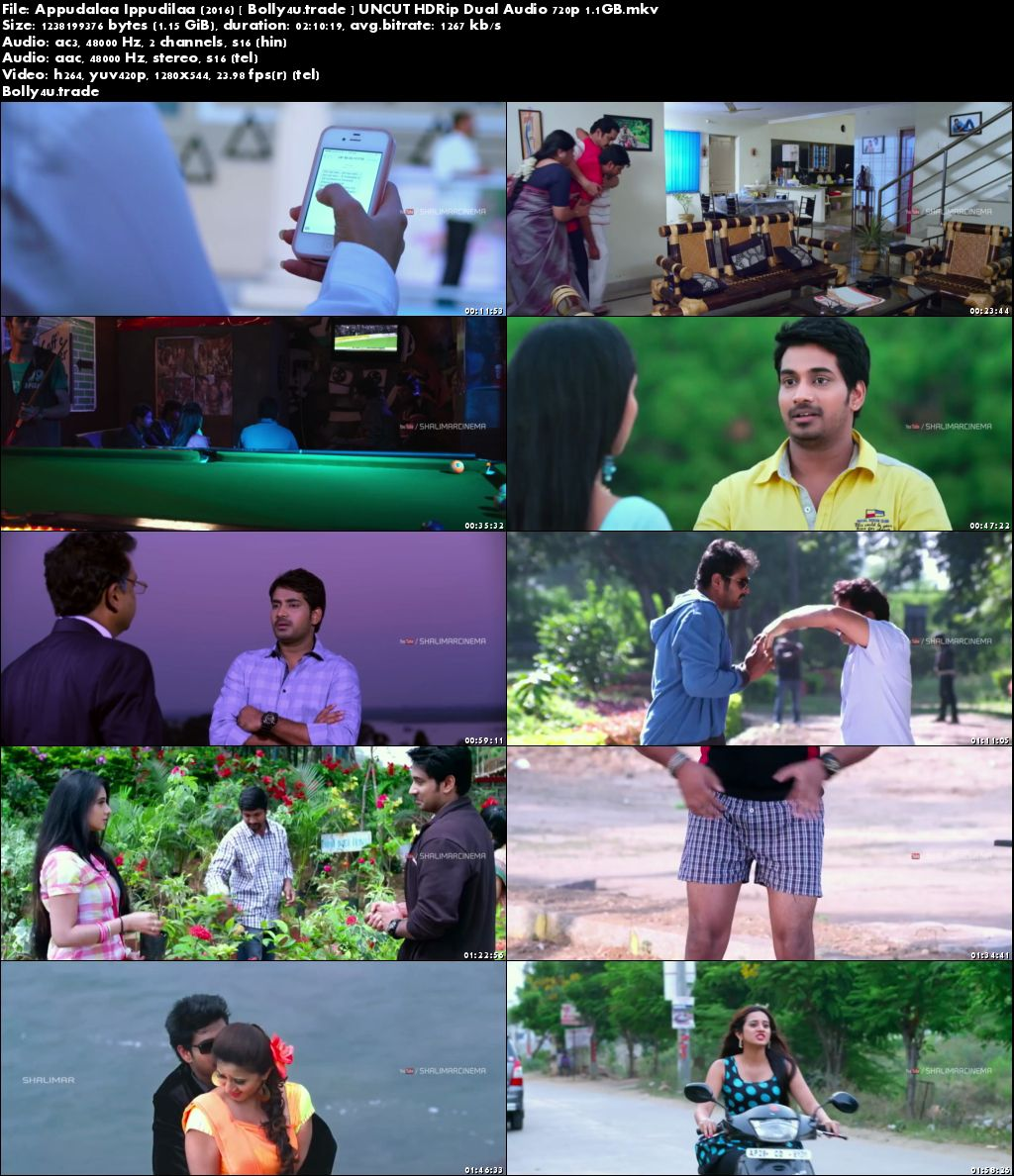 Appudalaa Ippudilaa 2016 HDRip UNCUT Hindi Dual Audio 720p Download