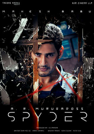 Spyder (2017) Dual Audio 480p BluRay x264 [Hindi + Telugu] ESubs