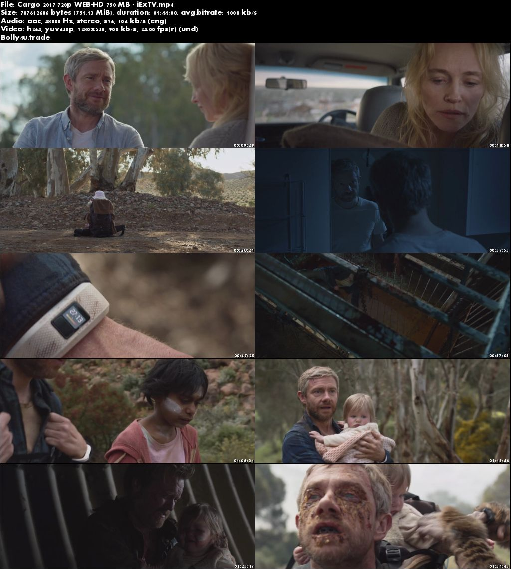 Cargo 2017 WEB-DL 300Mb English 480p ESub Download