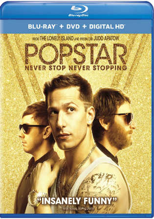 Popstar Never Stop Never Stopping 2016 BRRip 280Mb Hindi Dual Audio 480p Watch Online Full movie Download bolly4u