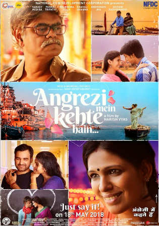 Angrezi Mein Kehte Hain 2018 Pre DVDRip 600MB Hindi x264 Watch online Full Movie Download bolly4u