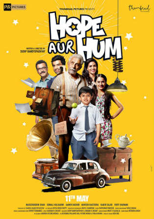 Hope Aur Hum 2018 Pre DVDRip 700MB Full Hindi Movie Download x264 Watch Online Free Worldfree4u 9xmovies