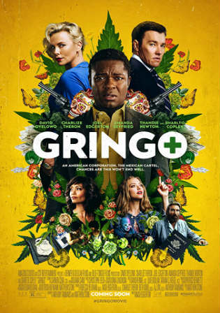 Gringo 2018 WEB-DL 900MB English 720p Watch Online Full Movie Download bolly4u