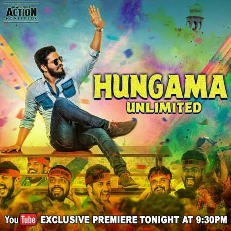 Watch Online Hungama Unlimited Kirrak Party 2018 HD-Rip Hindi Dubbed Movie 720p Full Movie Download mkvcage