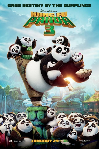 Kung Fu Panda 3 2016 Hindi Dual Audio ORG BluRay 800MB 720p thumbnail