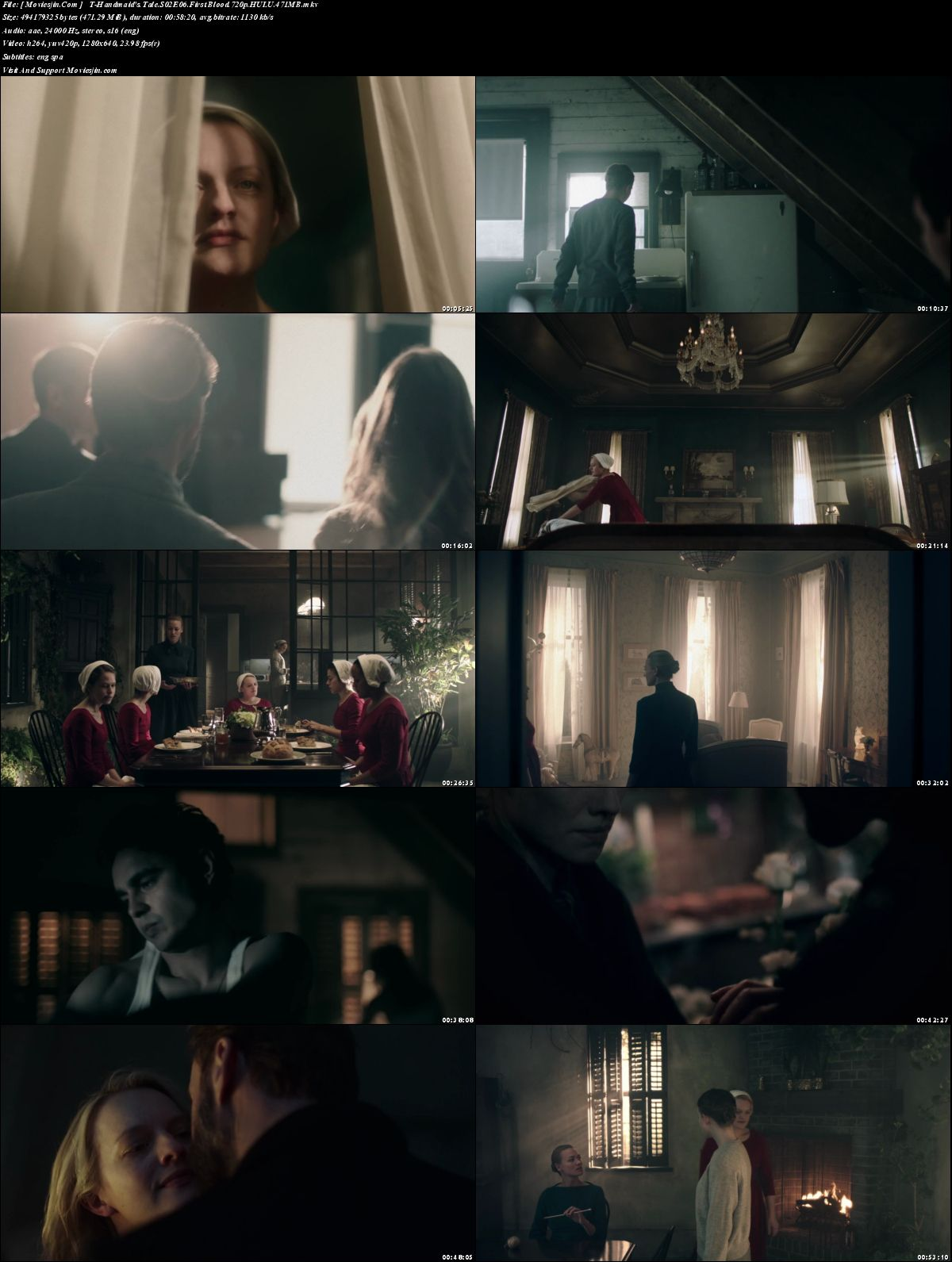 Watch Online The Handmaids Tale S02E06 WEBDL HULU x264 720p ESub 471MB  Full Download mkvcage