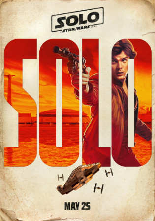 Solo A Star Wars Story 2018 HDCAM 350MB English 480p Watch Online Full Movie Download bolly4u