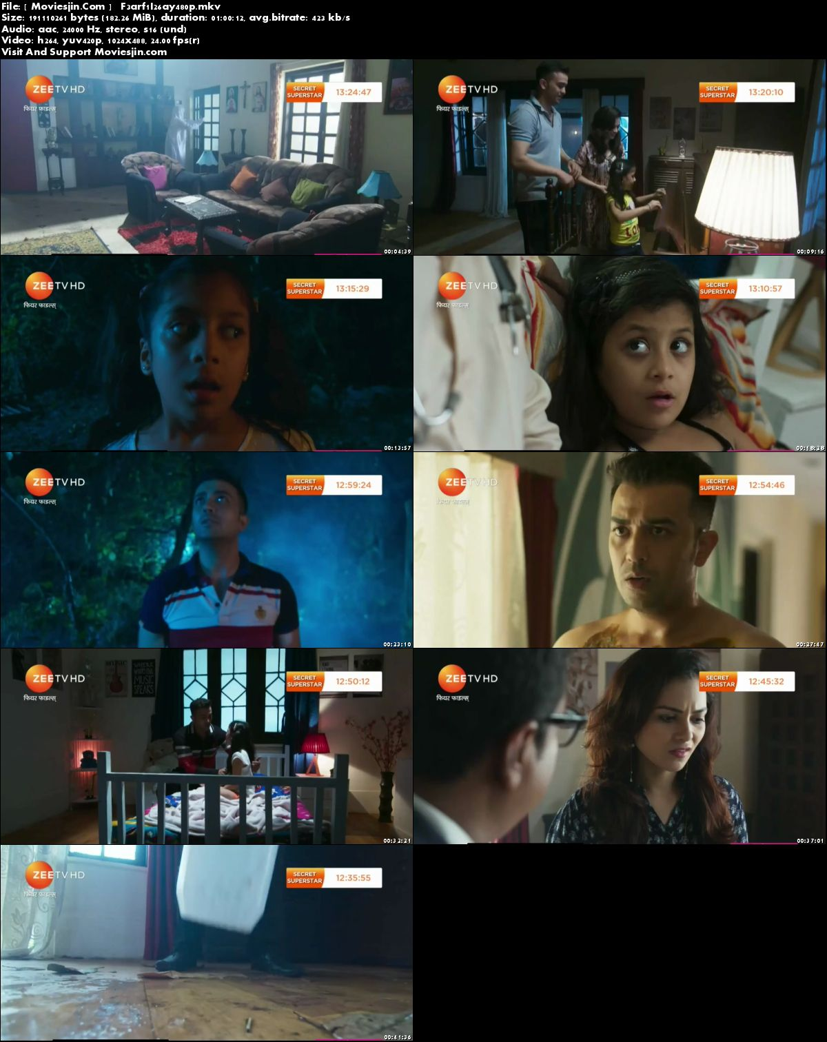 Watch Online Fear Files Season 3 26th May 2018 TvRip 190MB 480p Full Movie Download mkvcage
