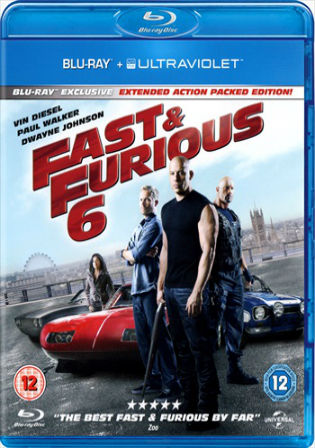 Fast And Furious 6 2013 BRRip 400Mb Hindi Dual Audio ORG 480p