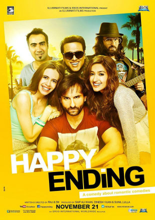 Happy Ending 2014 HDRip 350Mb Full Hindi Movie Download 480p