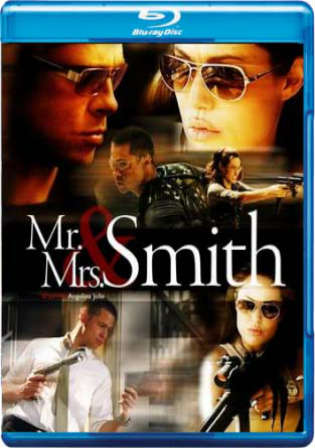 Mr and Mrs Smith 2005 BluRay 900MB Hindi Dual Audio 720p