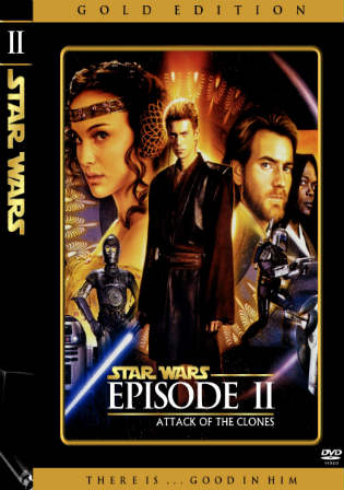 Star Wars Episode V Attack Of The Clones 2002 BRRip 1Gb Hindi Dual Audio 720p