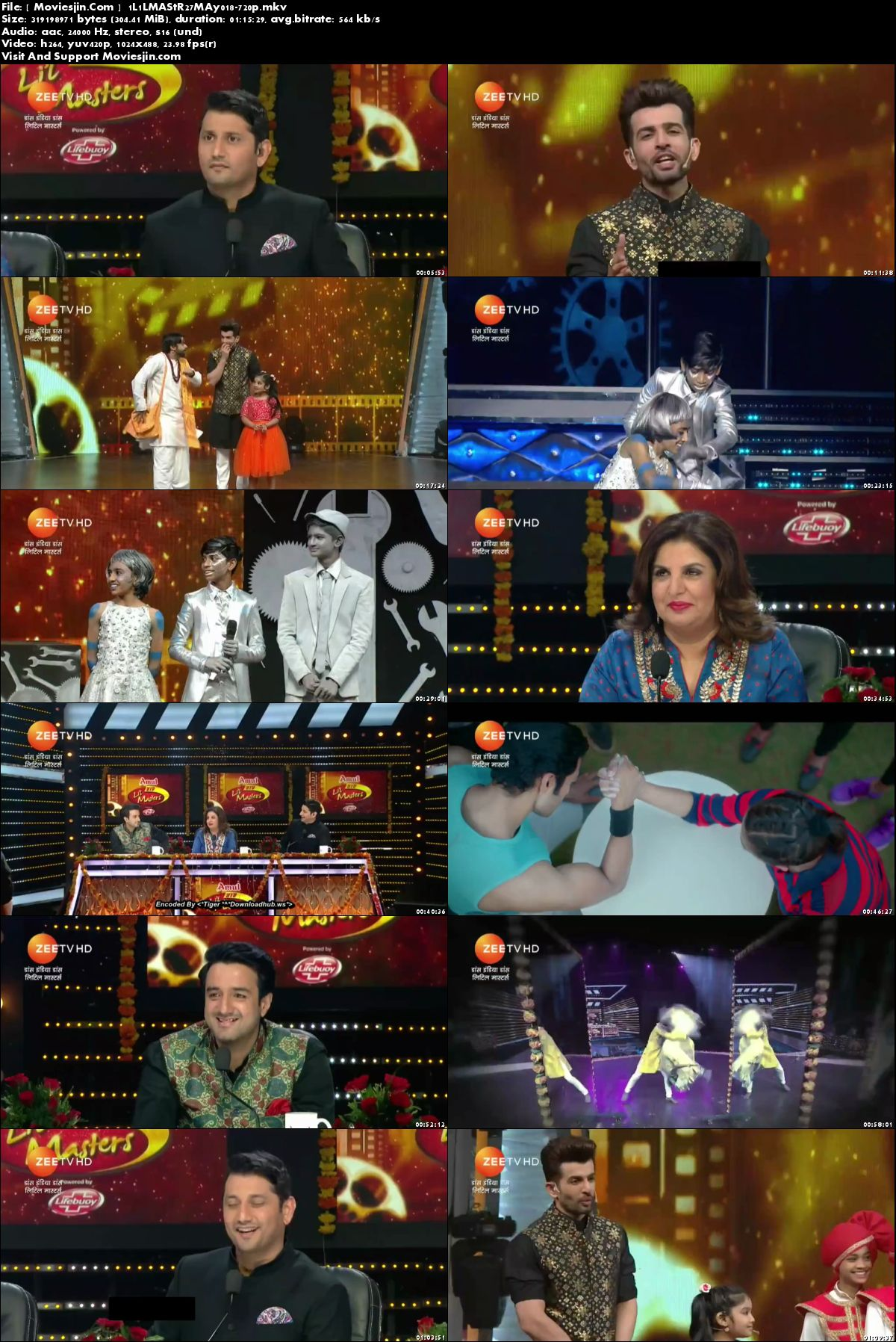 Watch Online DID LiL asters S04 27th May 2018 TvRip 305MB 480p Full Download mkvcage