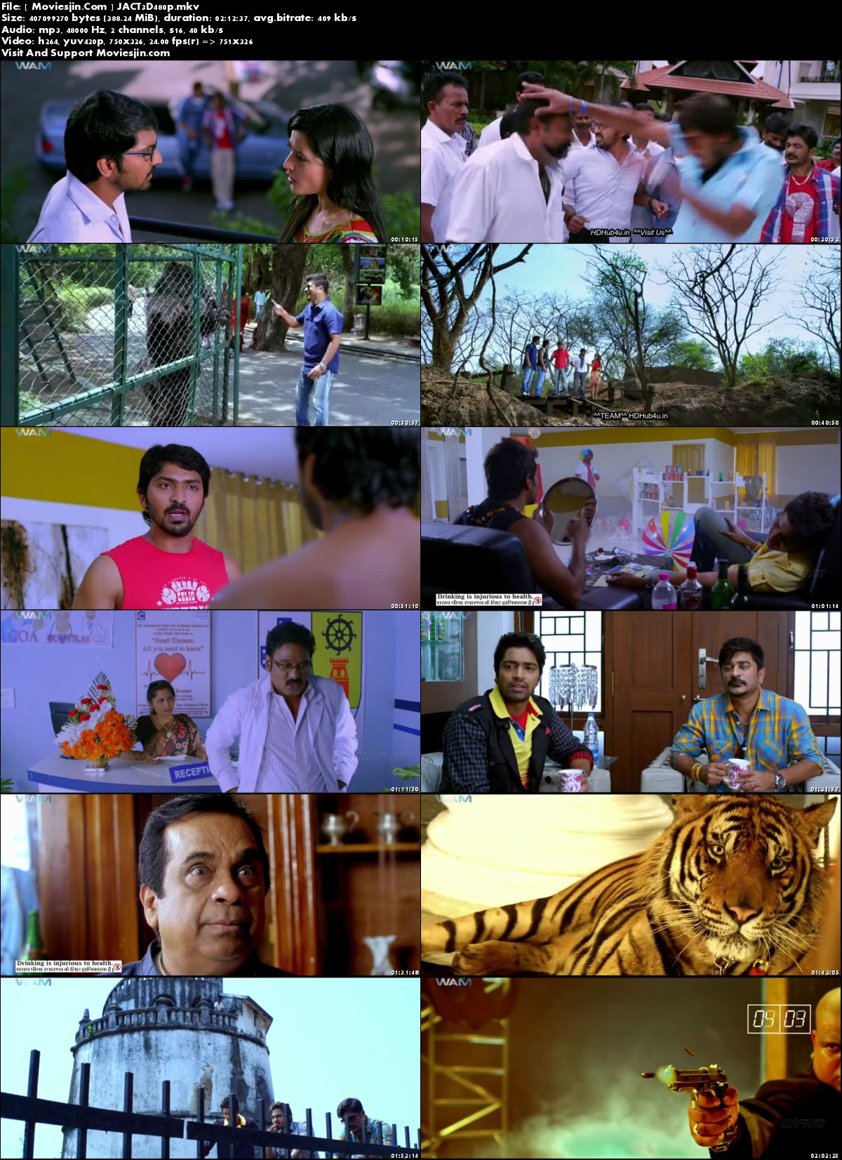 Watch Online  Action 3D 2018 Movie HDRip Hindi Dubbed x264 720p  Full Movie Download mkvcage