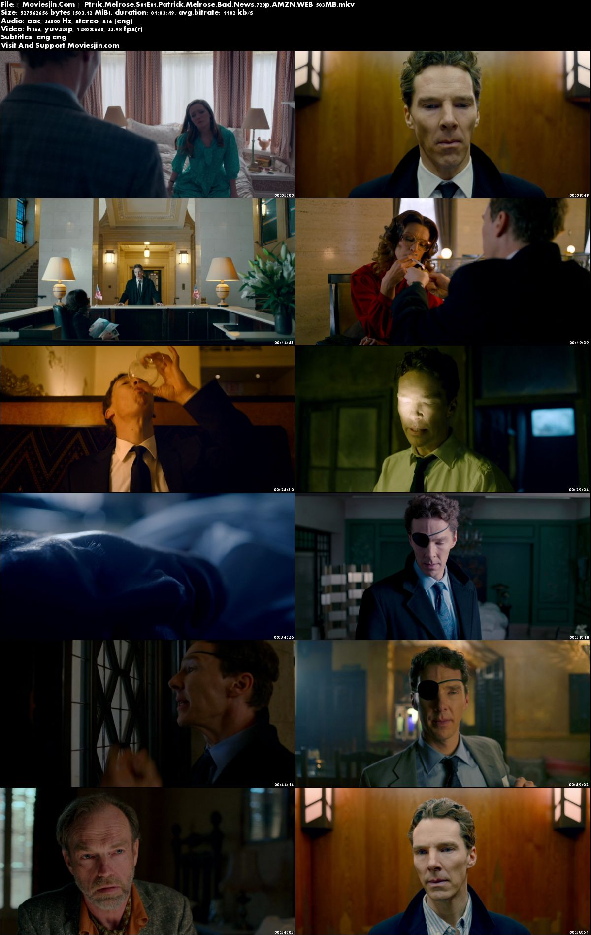 Watch Online Patrick Melrose S01Ep01 720p ESub 505MB WEBDL Full Download mkvcage