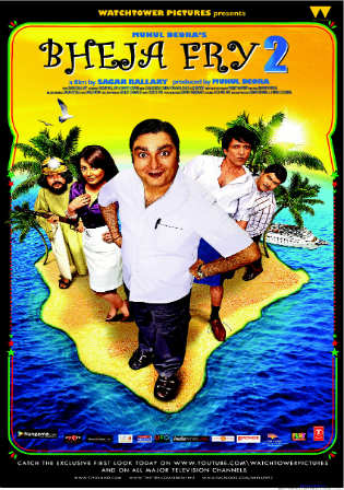 Bheja Fry 2 2011 DVDRip 350MB Full Hindi Movie Download 480p Watch Online Free bolly4u