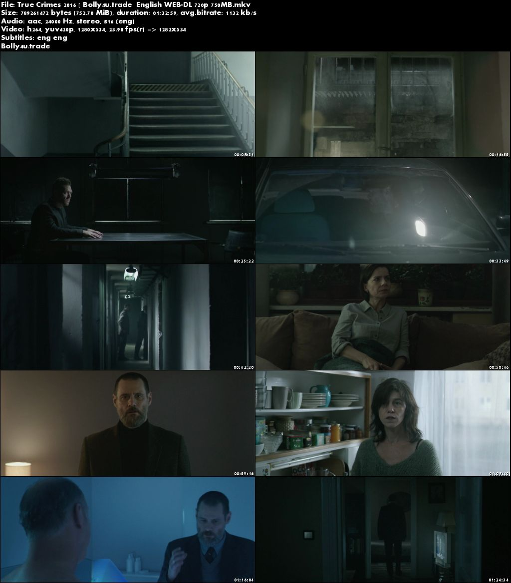 Dark Crimes 2016 WEB-DL 280MB English 480p ESub Download