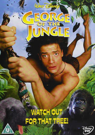 George of the Jungle 1997 BRRip 300Mb Hindi Dual Audio 480p Watch Online Full Movie Download bolly4u