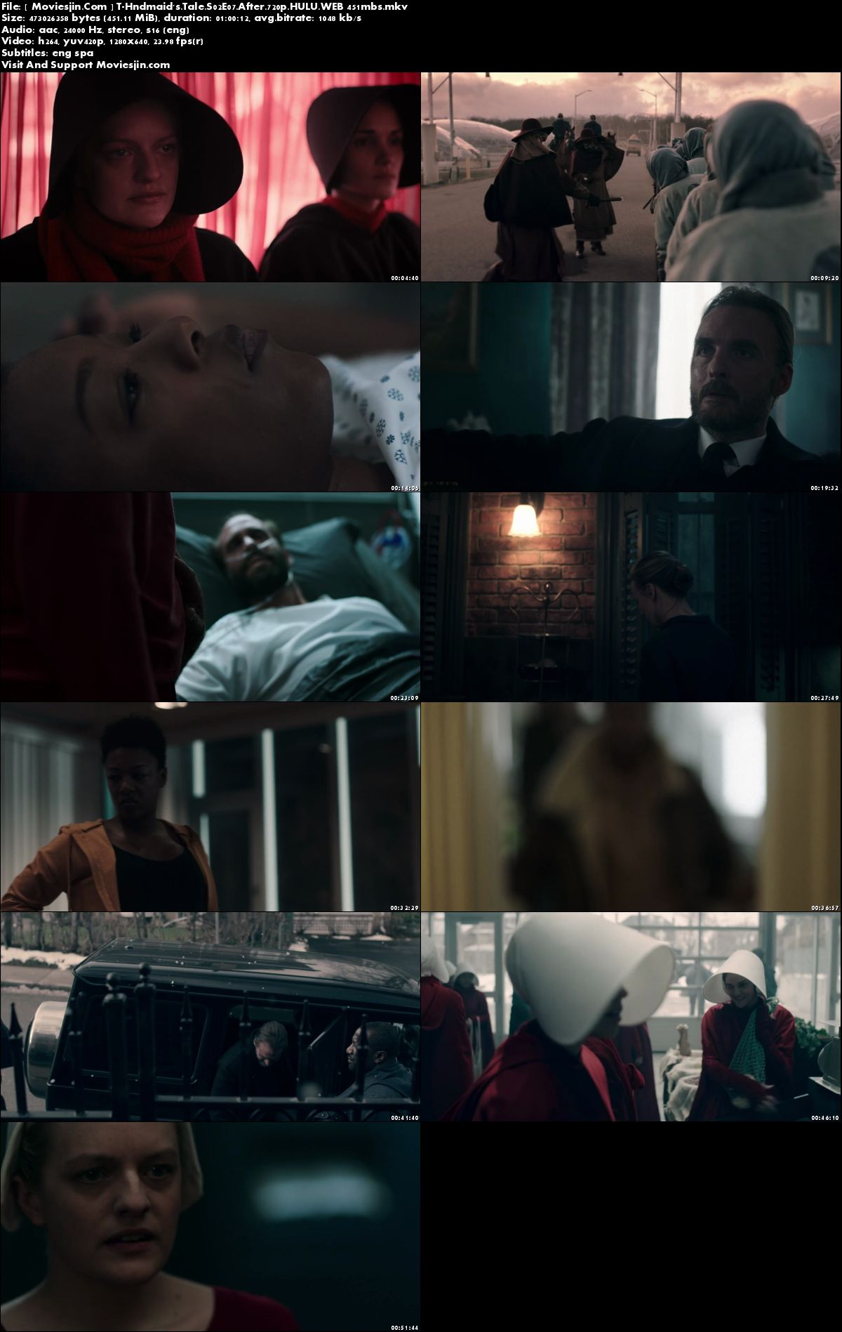 Watch Online The Handmaids Tale S02E07 WEBDL HULU x264 720p ESub 451MB  Full Download mkvcage