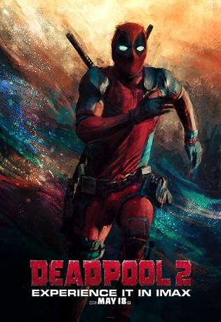 Watch Online Deadpool 2 2018 Movie Hindi 410MB Dual Audio New 480p CAM-Rip Full Movie Download mkvcage