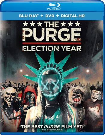 Watch Online The Purge Election Year 2016 Movie Hindi 340MB Dual Audio BRRip 480p Full Movie Download mkvcage
