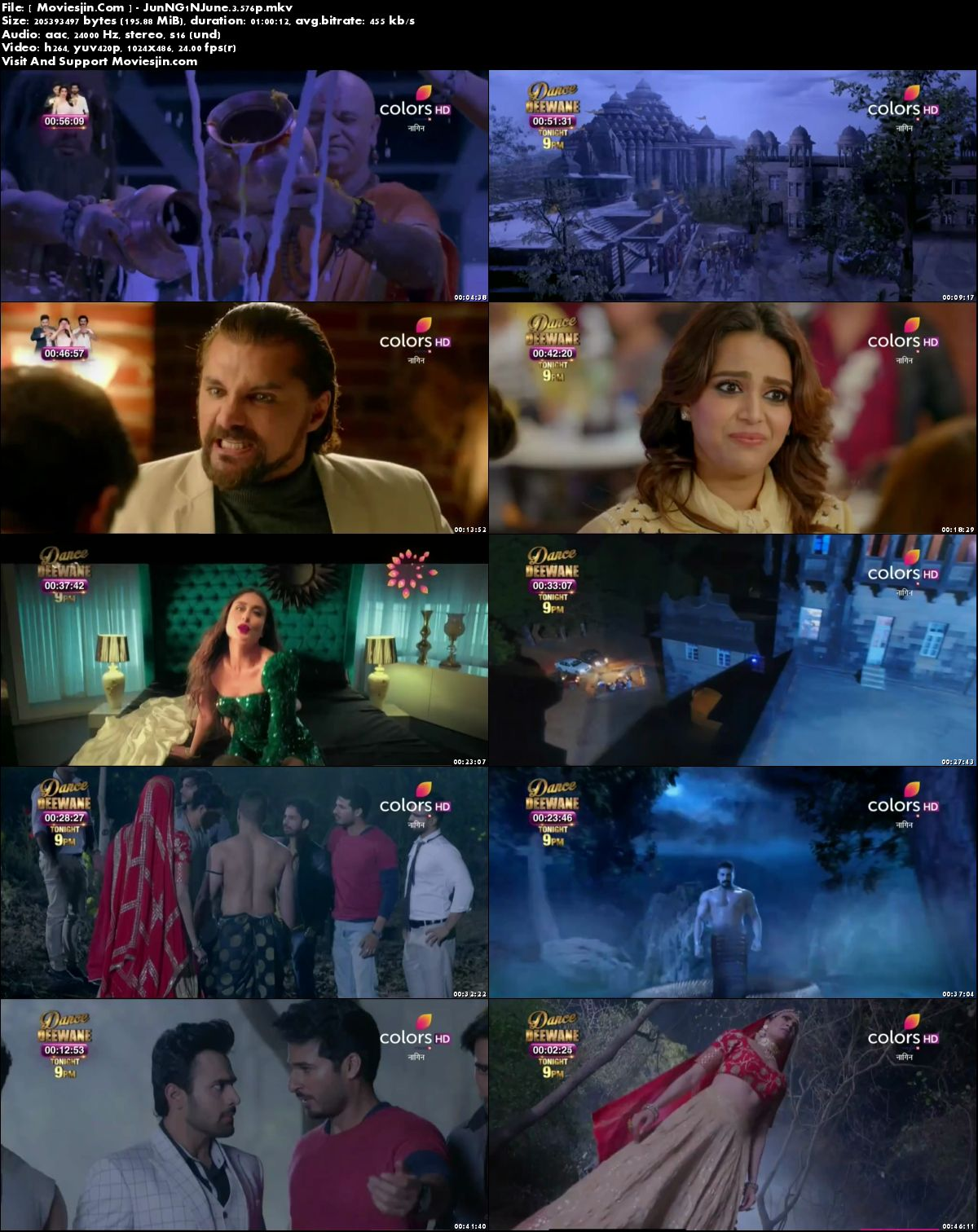Watch Online Naagin Season 3 2 June 2018 TvRip 195MB 480p x264 Full Download mkvcage