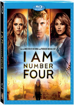 I Am Number Four 2011 BRRip 950MB Hindi Dual Audio 720p Watch Online Full Movie Download bolly4u