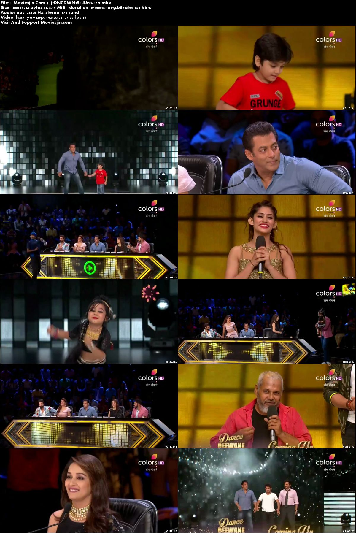 Watch Online Dance Deewane 3rd June 2018 TvRip 272MB 480p x264 Full Download mkvcage