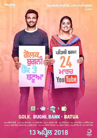 Golak Bugni Bank Te Batua 2018 HDRip 350Mb Punjabi 480p Watch Online Full Movie Download bolly4u