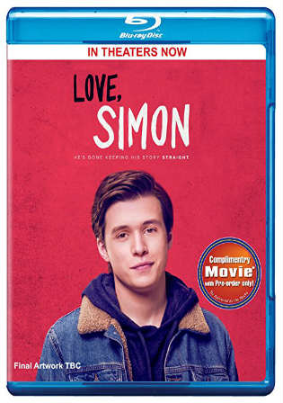 Love Simon 2018 BRRip 850MB Hindi Dual Audio 720p Watch Online Full Movie Download bolly4u