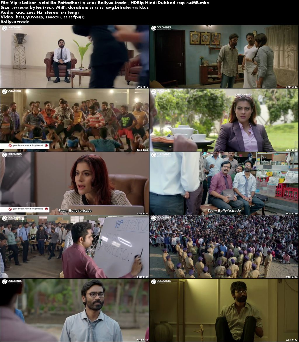 Vip 2 Lalkar 2018 HDRip 300MB Hindi Dubbed 480p download