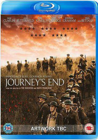 Journeys End 2017 BRRip 300Mb English 480p ESub Watch Online Full Movie Download bolly4u