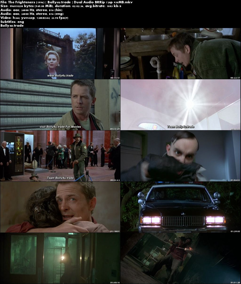 The Frighteners 1996 BRRip 950MB Hindi Dual Audio 720p Download