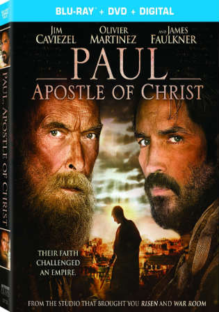 Paul Apostle of Christ 2018 BRRip 999MB English 720p ESub