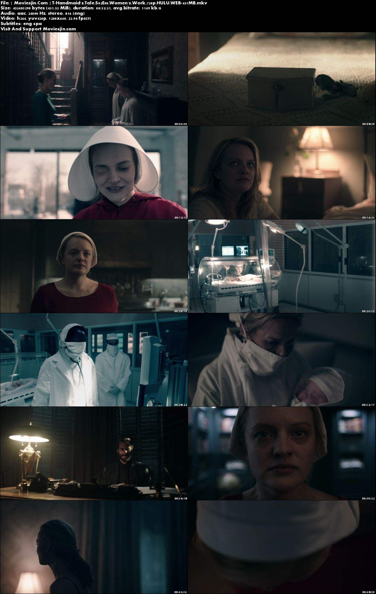 Watch Online The Handmaids Tale S02E08 HULU WEBDL 431MB 720p ESub Full Download mkvcage